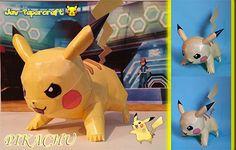 Paperized: Pokemon: Pikachu Papercraft