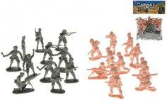 Sada vojáci 2 vojska plast - 0