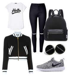 """Untitled #3"" by x-anna-a on Polyvore featuring WithChic and Moschino"