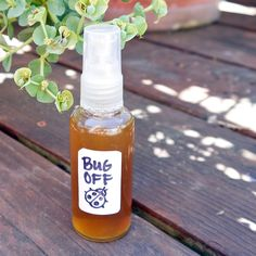Bug Off! All-Natural Insect Repellent That Really Works ~Definitely using this for my outdoor bridal shower!