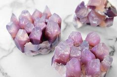 How to DIY This Awesome-Looking Amethyst Soap We Found on Instagram