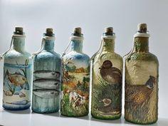 """2 kedvelés, 0 hozzászólás – special handmade decor (@biborvarazs) Instagram-hozzászólása: """"🦆 Hunters' and fishers' world. 🐟 Vadászok és horgászok világa. 🦆  www.facebook.com/biborvarazs…"""" Facebook, Bottle, Gifts, Instagram, Home Decor, Presents, Decoration Home, Room Decor, Flask"""