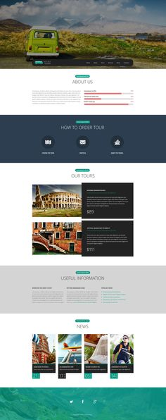 Website Template , Pro Travel Website