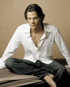 Jared Padalecki...I fell in love with him on Gilmore Girls...Yes I have been a fan that long...out of the two brothers he is who I relate to more...the books...the law...the curiosity