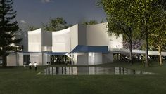 Steven Holl arts centre in Pennsylvania