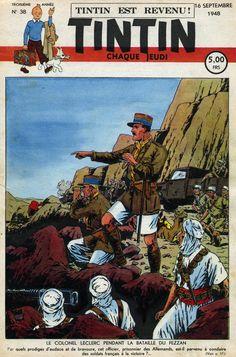 Le Journal de Tintin - Edition Belge - N°  104 - 1948-38 - Jeudi 16 Septembre 1948 - Couverture : Etienne Le Rallic