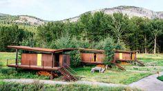 Rolling Huts, Mazama, WA