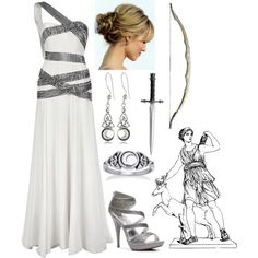 """Artemis (Goddess of the Hunt)"" by lilacmayn on Polyvore"