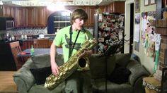 Baritone Saxophone- Enter Sandman