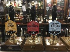 Three from the Withnells Brewery range: Hoppy Fettler, Push Iron & Tin Basher
