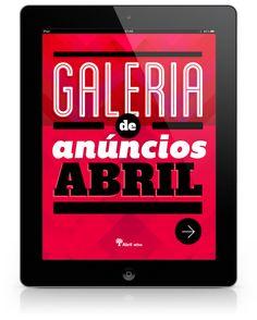 Galeria de Anúncios Abril by Thiago Barcelos, via Behance