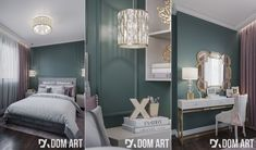 Kobiecy Apartament | Amadeusz Design Bedroom, Furniture, Home Decor, Decoration Home, Room Decor, Bedrooms, Home Furnishings, Home Interior Design, Dorm Room