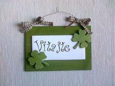 Adrianadesign / Dekorácia na dvere - zelená