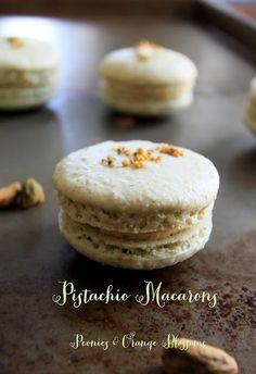 Peonies and Orange Blossoms: Pistachio Macaron Recipe Version 2