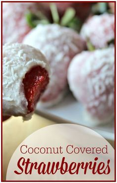 Coconut Covered Stra
