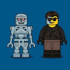 Terminator #Lego #Illustration