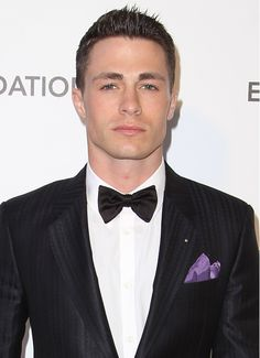 Colton Haynes at the 21st Annual Elton John AIDS Foundation's Oscar Viewing Party