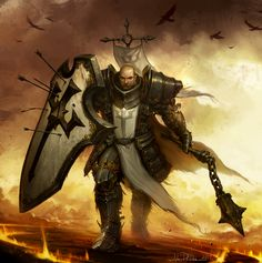 Diablo 3: Reaper of Souls Box Art Crop by NorseChowder.deviantart.com on @deviantART