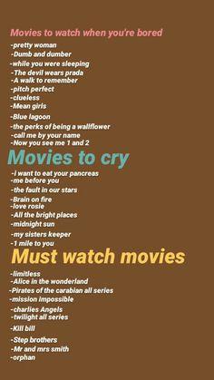 Must Watch Netflix Movies, Movies To Watch Teenagers, Netflix Shows To Watch, Good Movies On Netflix, Movie To Watch List, List Of Disney Movies, Scary Movie List, Netflix List, Best Movies List