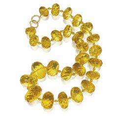 Amber bead necklace, Paloma Picasso for Tiffany & Co.