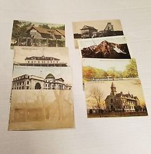 Assorted Lot VTG Postcards Iowa 28 All Posted 1908 Divided Back Printed Scenic in Collectibles, Postcards, Other Collectible Postcards | eBay