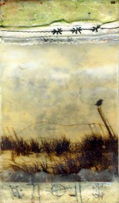 encaustic by Bridgette Guerzon Mills