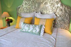 White on green plaid Hand embroidered Otomi Sham – Casa Otomi  Mexico, Tenango, wedding, textile, mexican suzani, embroidery, hand embroidered, otomi, fiber art, mexican, handmade,  casa, decor, interior, frida, kahlo, folk,  folk art, house, home, puebla, las flores, cushion, serape, preppy, gingham, polka dots, pink, lime, green, lily pulitizer, pouf, elle decor, boho, style, bestey johnson, lily pultizer, interior, stripes, southern living, southern style,