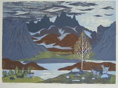 Black Mountain - Henrik Finne (1898-1992)