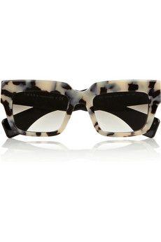Prada Square-frame acetate sunglasses | NET-A-PORTER