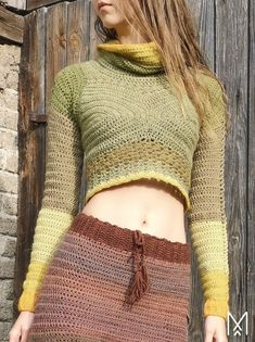 NUPPU cowl neck cropped jumper with flower bud details by Maana Crafts. Crochet jumper. 10 ply 200m/100g. 3.5 & 4mm hook. Paid download. Saved to Evernote/ iBooks/ Google Futhark Runes, Elder Futhark, Crochet Jumpers, Sustainable Clothing Brands, 200m, Evernote, Cropped Sweater, Double Crochet, Crochet Clothes