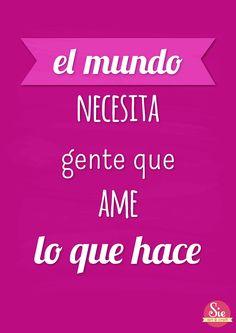 El mundo necesita ♥