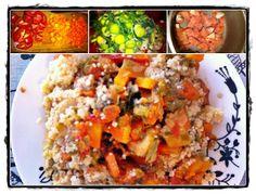 Couscous de pollo marroquí