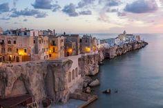 Puglia is famous for, the tomato-rich orecchiette pasta dishes or the burrata. Say no more...