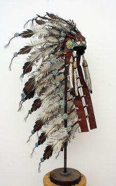 Sioux headdress by Chris Beck