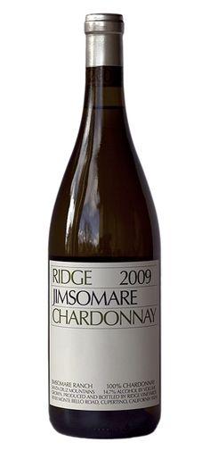 Ridge Jimsomare Chardonnay -- a perfect way to celebrate Chardonnay Day!
