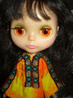 1972 Original Vintage Brunette Blythe Doll