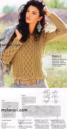 Короткие женские пуловеры для весны... ♥ Deniz ♥