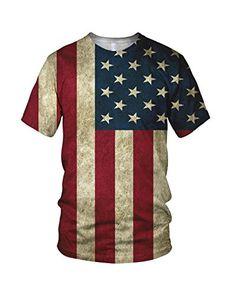 All Over Print USA Flag Men's Fashion T Shirt, White, M alloverprint.it http://www.amazon.co.uk/dp/B00MPSGZMC/ref=cm_sw_r_pi_dp_zHLPvb1V9DDYZ