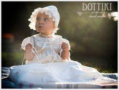 Christening Silk Gown Baptism Dress Baptism Gown #dottiki #christeningoutfit #christeninggown  #blessingdress #baptismoutfit #christeningdress #baptismdress #baptismromper #christeningromper #baby #children #girl #clothes