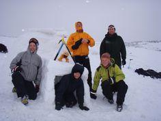 We built an igloo!! Winter Skills training | Dallam Outdoors