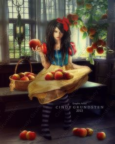 """Fairytale:  """"Snow White and the Big Apple,"""" by Dezzan, at deviantART."""