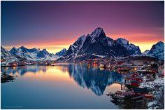 Reine | Lofoten by Christian Bothner, via 500px