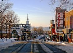 Image of la Main à Granby - main street in Granby from the cityscape & urban photos of vu Main Street, Street View, O Canada, Montreal Quebec, Places Ive Been, Maine, Times Square, Beautiful Places, Coast
