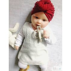 Can't get any cuter 😊 in our bestseller top knot turban!