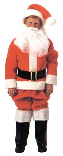 Santa Suit Child Costume (Size 16) - http://www.halloween.quick-reviews.com/5676/santa-suit-child-costume-size-16.html