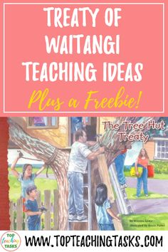Read on to find some great Treaty of Waitangi teaching ideas for how to make the Treaty of Waitangi and Waitangi Day engaging. Primary Classroom, Primary School, Classroom Ideas, Teaching Materials, Teaching Ideas, Treaty Of Waitangi, Waitangi Day, Tree Hut, Study History