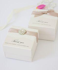 Huwelijksbedankjes - wedding favours inspiratie. www.SweetLittleThings.nl