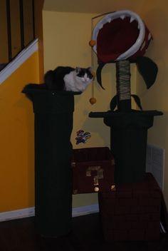 Mario Bros. cat tree