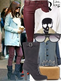 """""""332. Street Style: Selena Gomez"""" by zaandupreez on Polyvore"""
