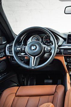 BMW X6 (2016) M Steering Wheel